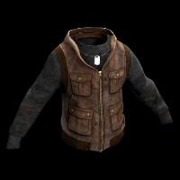 Ranger's Vest Rust Skin