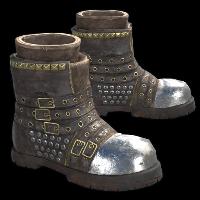 Rock Star Boots Rust Skin