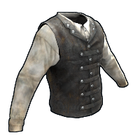 Rust Captain's Vest and Shirt Skins
