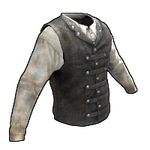 Captain's Vest and Shirt