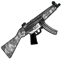 Rust Digital Camo MP5 Skins