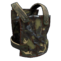 Forest Camo Chest Plate Rust Skin