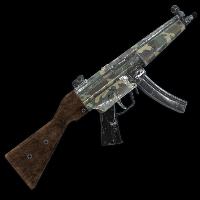 Rust Military Camo MP5 Skins