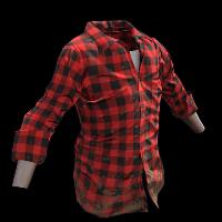 Red Lumberjack Rust Skin