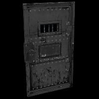Incarceration Armored Door Rust Skin