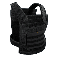 Plate Carrier - Black Rust Skin