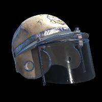 Captain's Helmet Rust Skin