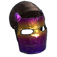 Tempered Mask Rust Skin