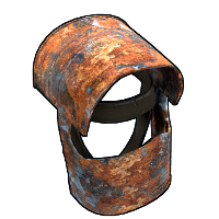 Rusty Coffee Can Helmet Rust Skin
