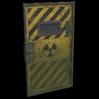 Radioactive Armored Door Rust Skin