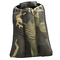 Jungle Camo Sleeping Bag Rust Skin