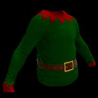 Christmas Elf Rust Skin