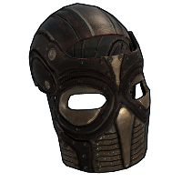 Mask of Sacrifice Rust Skin
