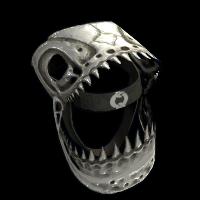 Lizard Skull Rust Skin