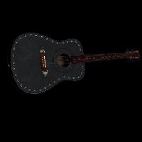 No War Guitar Rust Skin