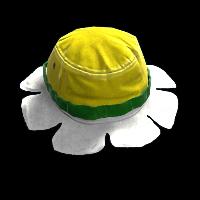Flower Hat Rust Skin