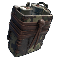 Rust Military Satchel Charge Skins