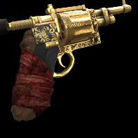 Outlaw Revolver Rust Skin