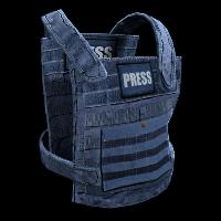 Press Vest Rust Skin