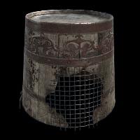 The King's Bucket Rust Skin