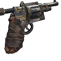 Western Revolver Gold Rust Skin
