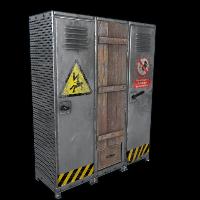 Grid Locker Rust Skin