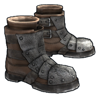 Armored Boots Rust Skin