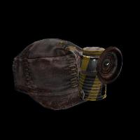 Workman's Safety Hat Rust Skin
