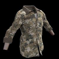Autumn Hunter's Shirt Rust Skin