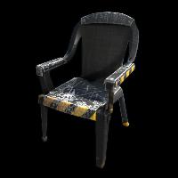 Danger Chair Rust Skin
