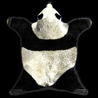 Rust Panda Rug Skins