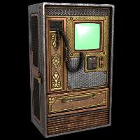 Brass Vending Machine Rust Skin