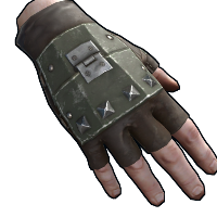 Rust Army Armored Gloves Skins