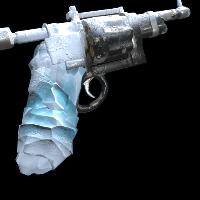 Frostbitten Revolver Rust Skin