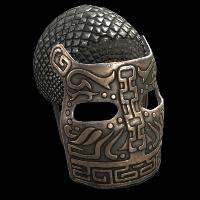 Bronze War Mask Rust Skin
