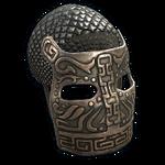 Bronze War Mask