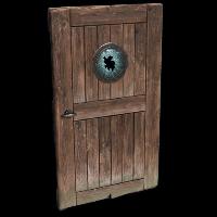 Porthole Door Rust Skin