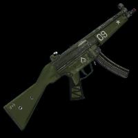 Tank MP5 Rust Skin