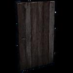 Bleached Ebony Door