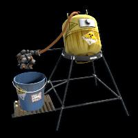 Radioactive Water Purifier