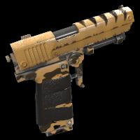 Desert Hunter Rust Skin