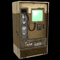 Sand Tone Vending Machine Rust Skin