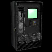 Rox Black Vending Machine Rust Skin