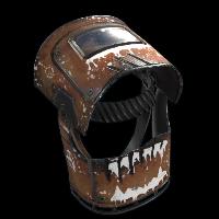 Welding Helmet Rust Skin