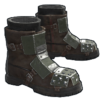 Army Armored Boots Rust Skin