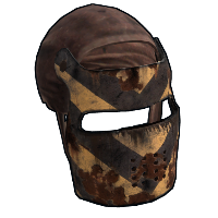 Scavenger Facemask Rust Skin