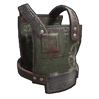 Salvaged Plating Armor Rust Skin