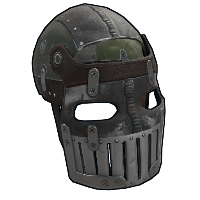 Rust Army Armored Facemask Skins