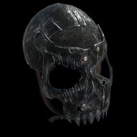 Juggernaut Mask Rust Skin