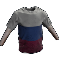 Russia Tshirt Rust Skin